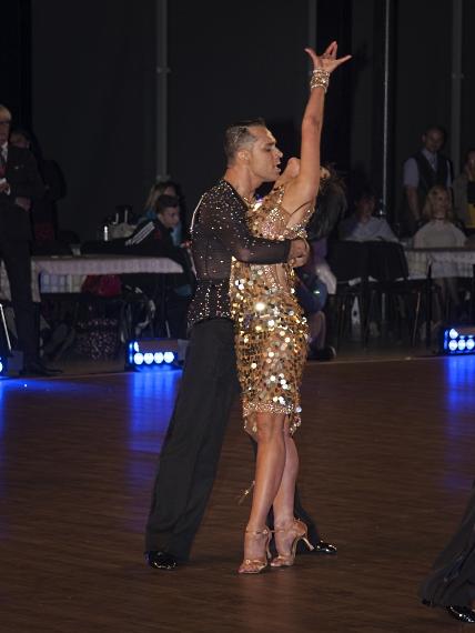 Tanbilder - Denislav Dimitrov & Iliyana Staevska Europa Meisterschaft der lateinamerikanischen Tänze