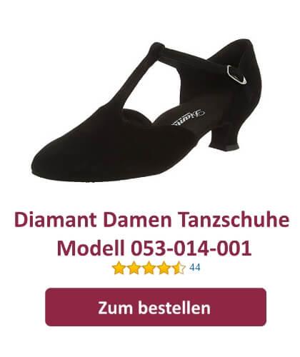 Diamant Damen Tanzschuhe 053-014-001 für Standard und Latein