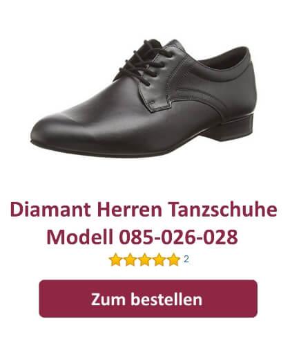 Diamant Herren Tanzschuhe 094-025-028 für Standard und Latein