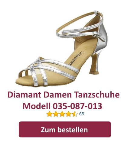 Diamant Latein Damen Tanzschuhe 035 087 013
