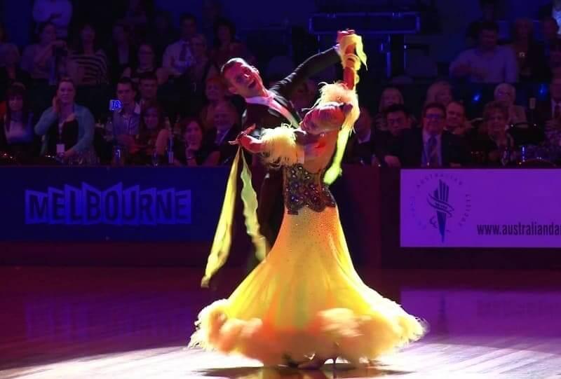 Quickstep tanzen - Tanzsportbilder