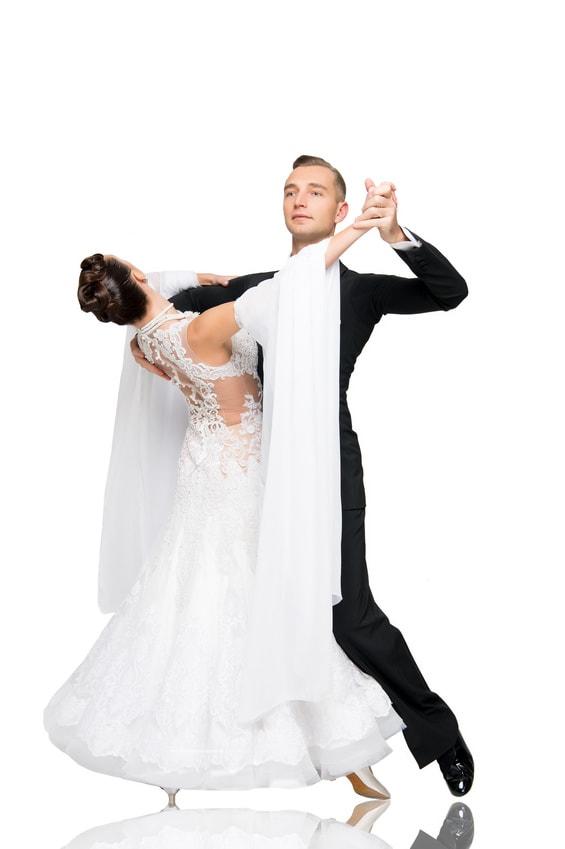 Tanzpaar Standard Grundposition